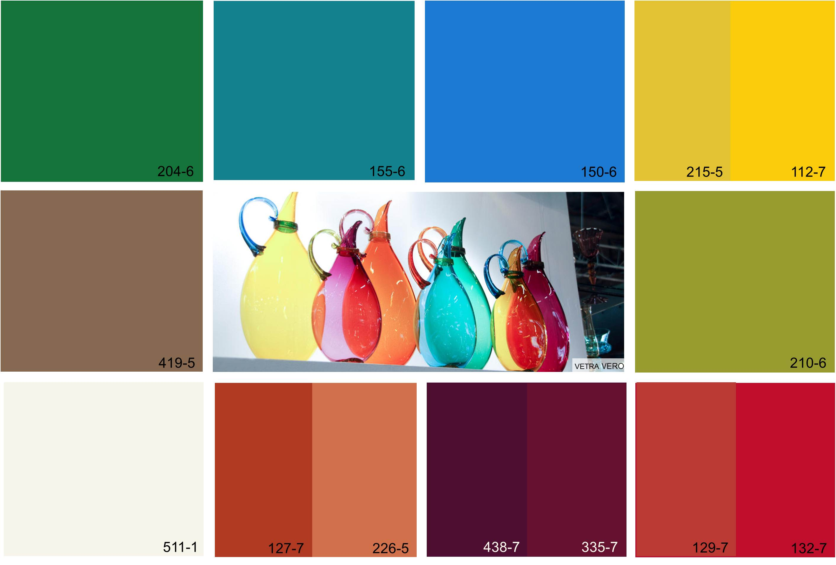 Color connects us blog archive artful expression color Color combinations numbers