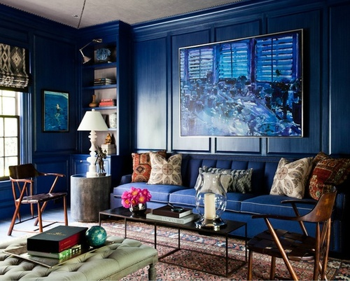 Tom Filicia color connects us archive thom filicia indigo blue